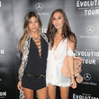 Rumi Neely Guests Attend the Mercedes-Benz 2015 Evolution Tour in Los Angeles