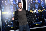 """Actor Pablo Schreiber attends the """"Run All Night"""" New York Premiere at AMC Lincoln Square Theater on March 9, 2015 in New York City."""