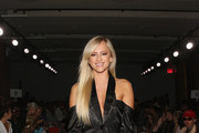 Professional wrestler, model, actress of WWE's Summer Rae, Danielle Moinet, attends the Runa Ray fashion show during New York Fashion Week: First Stage at The Gallery at The Dream Downtown Hotel on September 9, 2017 in New York City.