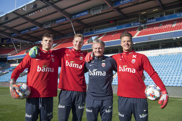 Rune Almenning Jarstein Norway Training Session And Press Conference
