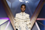 Tami Williams walks the Runway at Fashion for Relief Cannes 2018 during the 71st annual Cannes Film Festival at Aeroport Cannes Mandelieu on May 13, 2018 in Cannes, France.