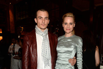 Rupert Friend Inside the Tribeca Film Festival Artist Dinner