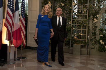 Rupert Murdoch Trump And First Lady Hosts State Dinner For French President Macron And Mrs. Macron