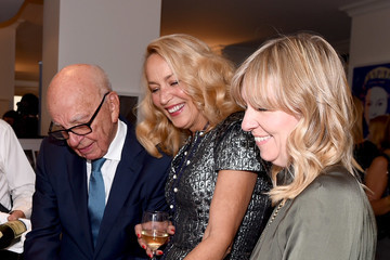 Rupert Murdoch Celebrating 'Vogue - Voice of a Century' With Genesis Publications and Alexandra Shulman of British Vogue
