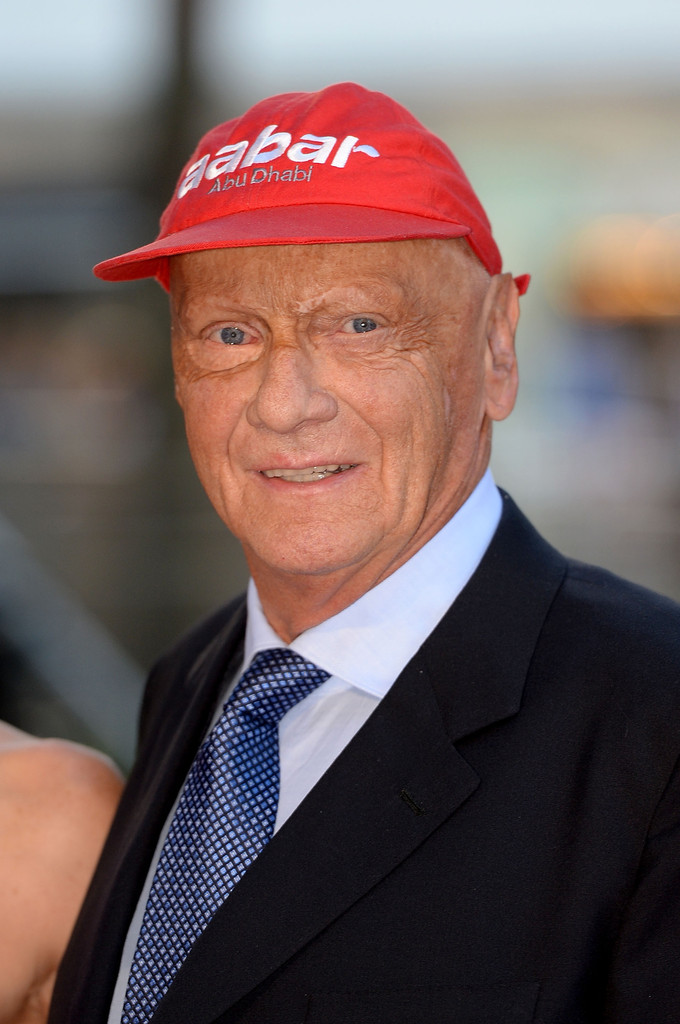 niki lauda in rush world premiere zimbio. Black Bedroom Furniture Sets. Home Design Ideas