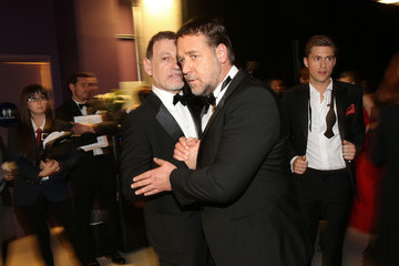 Russell Crowe 85th Annual Academy Awards - Backstage