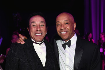Russell Simmons Inside the Elton John AIDS Foundation Oscars Viewing Party — Part 2