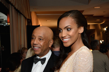 Russell Simmons Ciera Foster 8th Annual Hollywood Domino Gala Presented By BOVET 1822 Benefiting Artists For Peace And Justice