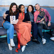 Russell Tovey 'Character Breakdown' By Zawe Ashton - Book Launch