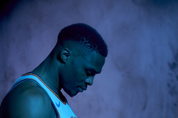 Russell Westbrook Oklahoma City Thunder Media Day 308d2f42e