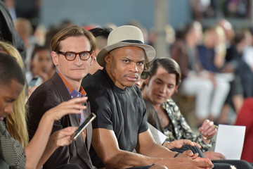 Russell Westbrook Courtney Love Watches Givenchy at Paris Fashion Week