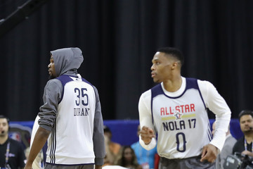 Russell Westbrook NBA All-Star Game 2017 - Practice