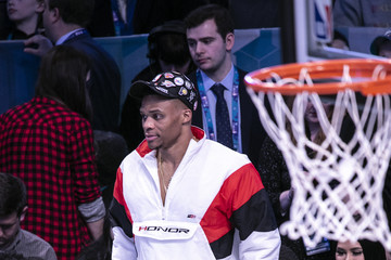 Russell Westbrook Celebrities Attend The 2019 NBA All-Star Saturday Night