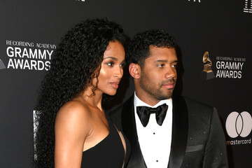 Russell Wilson The Recording Academy And Clive Davis' 2019 Pre-GRAMMY Gala - Arrivals