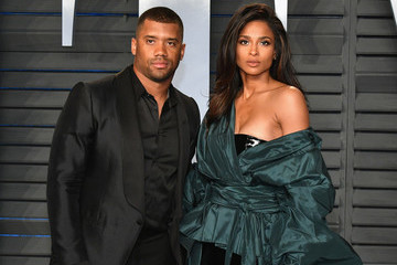 Russell Wilson 2018 Vanity Fair Oscar Party Hosted By Radhika Jones - Arrivals