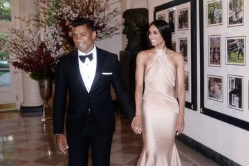 Russell Wilson President Obama And First Lady Host State Dinner For Japanese PM Shinzo Abe And Akie Abe