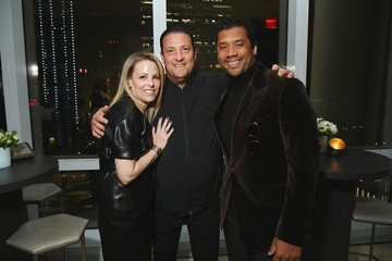 Russell Wilson InStyle Dinner To Celebrate The April Issue Hosted By Cover Star Ciara And Laura Brown