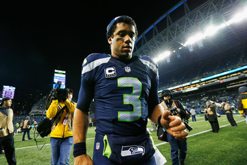 Russell Wilson Wild Card Round - Detroit Lions v Seattle Seahawks