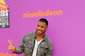 Russell Wilson Nickelodeon Kids' Choice Sports Awards 2017 - Red Carpet