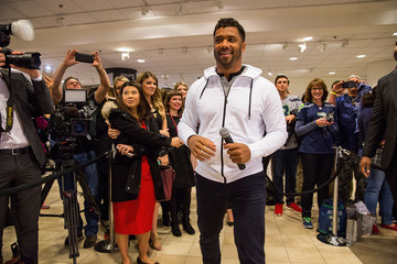 Russell Wilson Russell Wilson Launches Good Man Brand at Nordstrom