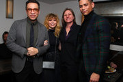 """Fred Armisen, Natasha Lyonne, VP Original Series, Cindy Holland, Netflix, and Charlie Barnett attend """"Russian Doll"""" Premiere at The Metrograph on January 23, 2019 in New York City."""