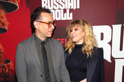 """Fred Armisen and Natasha Lyonne attend """"Russian Doll"""" Premiere at The Metrograph on January 23, 2019 in New York City."""