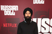 "Waris Ahluwalia attends ""Russian Doll"" Premiere at The Metrograph on January 23, 2019 in New York City."