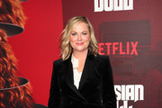 """Amy Poehler attends the """"Russian Doll"""" Premiere at The Metrograph on January 23, 2019 in New York City."""