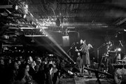 (Editors Note: Image has been converted to black & white) Ruston Kelly performs at The Basement East on February 08, 2019 in Nashville, Tennessee.
