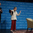 Ruth Bader Ginsburg Supreme Court Justice Ruth Bader Ginsburg Gives Lecture At The Georgetown University Law Center