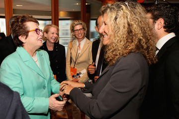 Ruth Westheimer Edie Lutnick Celebs at NYC's Annual Charity Day Event — Part 2