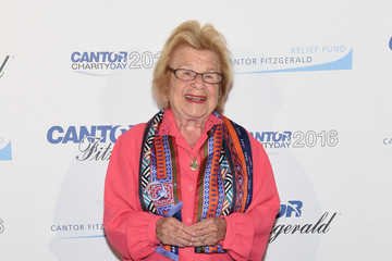 Ruth Westheimer Annual Charity Day Hosted By Cantor Fitzgerald, BGC and GFI - Arrivals