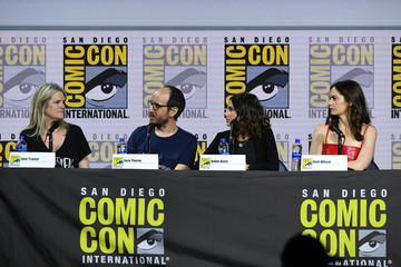 Ruth Wilson 2019 Comic-Con International - 'His Dark Materials' Panel And Q&A