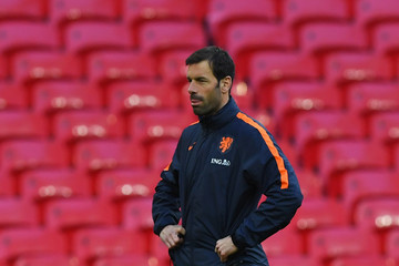 Ruud van Nistelrooy Netherlands Training Session and Press Conference