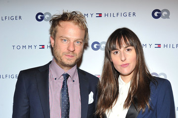 Ry Russo-Young Colin Spoelman Tommy Hilfiger & GQ Celebrate Men Of New York At The 5th Avenue Flagship