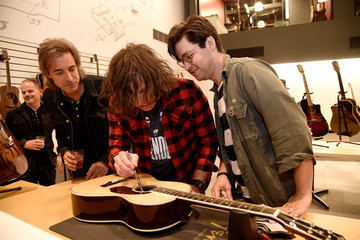 Ryan Adams Fender Celebrates Hollywood Office Grand Opening With Exclusive Performances by Cold War Kids and Bleached
