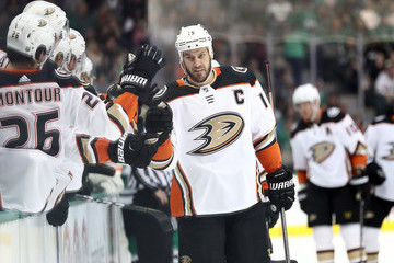 Ryan Getzlaf Anaheim Ducks vs. Dallas Stars