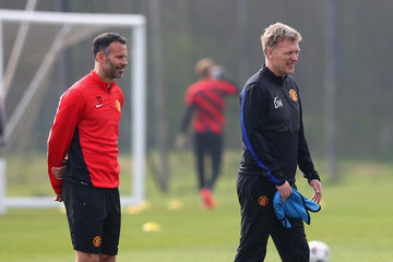 Ryan Giggs Manchester United Training Session