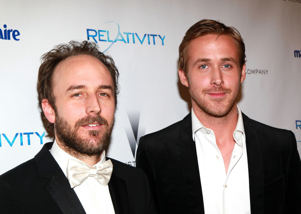 The Weinstein Company And Relativity Media's 2011 Golden Globe Awards Party - Arrivals [hair,facial hair,beard,premiere,white-collar worker,event,suit,ryan gosling,derek cianfrance,hotel,beverly hills,california,the beverly hilton,weinstein company,relativity media,party,golden globe awards]
