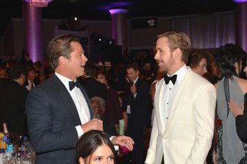 Ryan Gosling FIJI Water at the 73rd Annual Golden Globe Awards