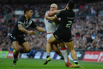 Ryan Hall New Zealand v England