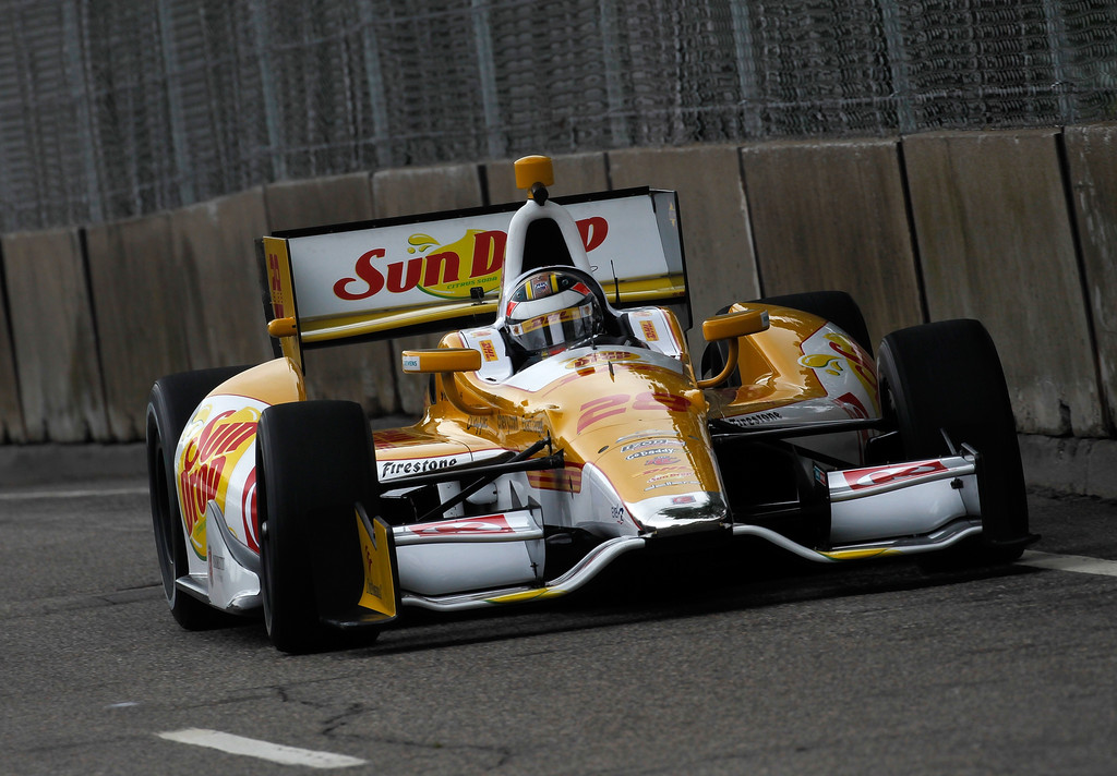 Ryan Hunter-Reay - Chevrolet Detroit Belle Isle Grand Prix - Day 1