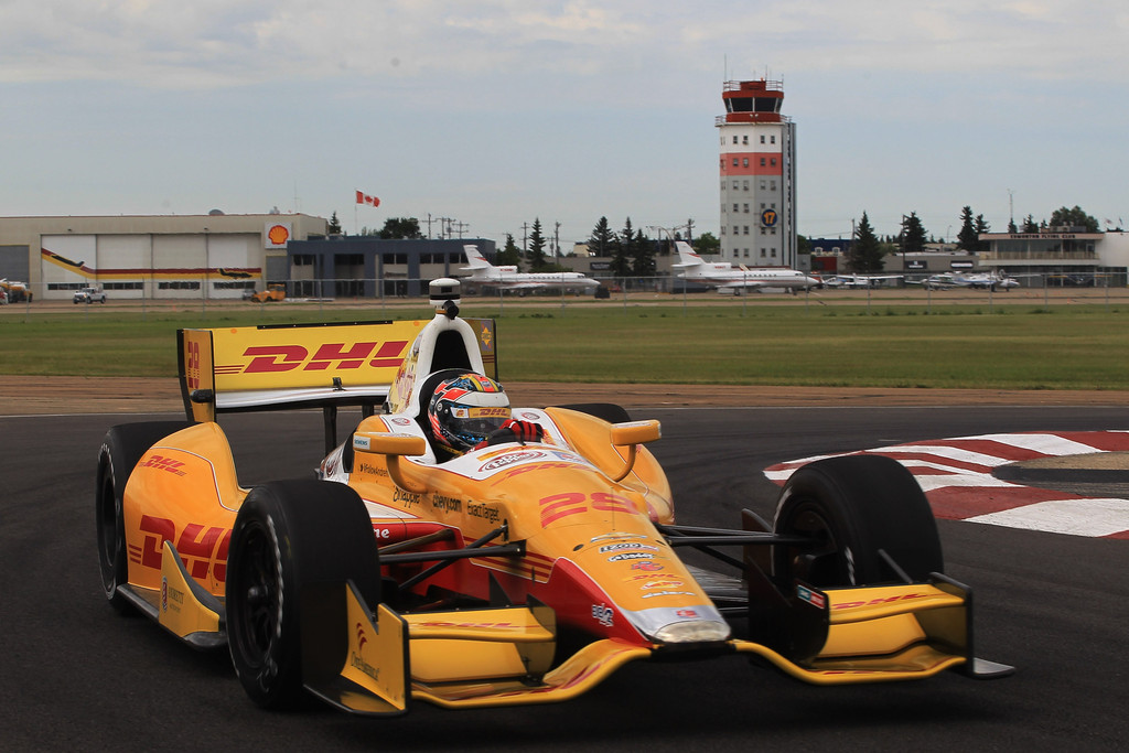 Ryan Hunter-Reay - Edmonton Indy - Day 1