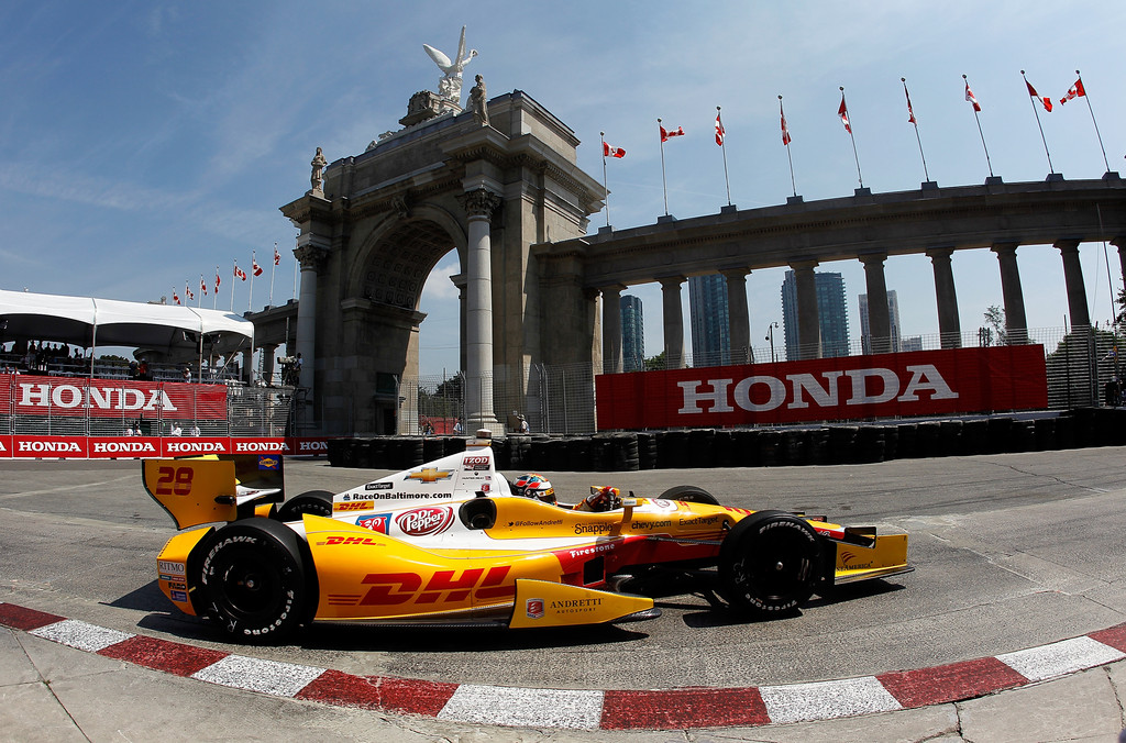 Ryan Hunter-Reay - Honda Indy Toronto - Day 1