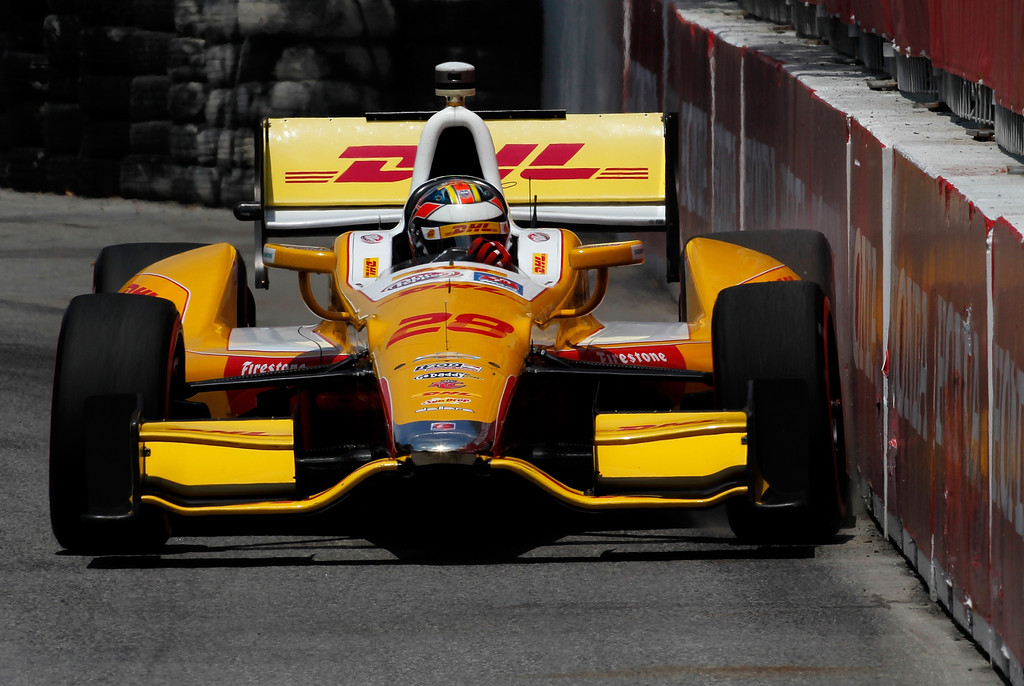 Ryan Hunter-Reay - Honda Indy Toronto - Day 2