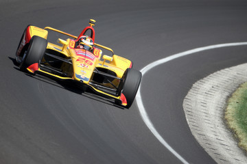 Ryan Hunter-Reay 102nd Running Of The Indianapolis 500 - Carb Day