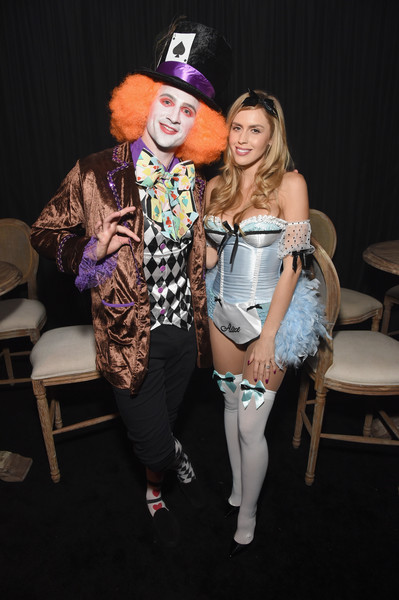 Celebs Attend the Casamigos Tequila Halloween Party [casamigos tequila halloween party,casamigos halloween party,costume,fashion,fun,event,performance,theatrical property,photography,cosplay,fashion design,residence,beverly hills,california,guest,ryan lochte]