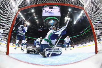 Ryan Miller Vancouver Canucks v New York Islanders
