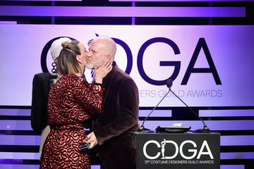 Ryan Murphy Lou Eyrich 21st CDGA (Costume Designers Guild Awards) - Show And Audience