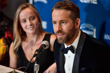 Ryan Reynolds Hasty Pudding Theatricals Honors Ryan Reynolds as 2017 Man Of The Year